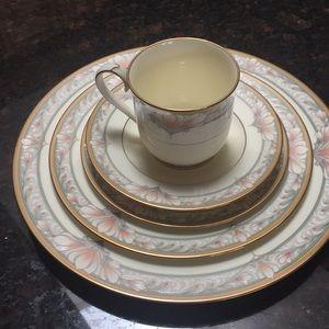 Noritake China Barrymore pattern
